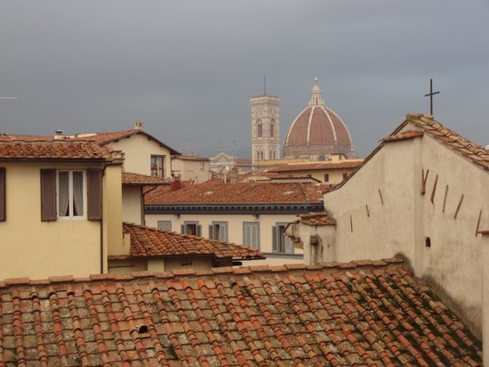 Antica Torre di Via Tornabuoni: View of the Duomo from our window