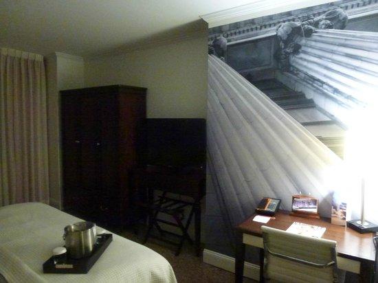 Hotel Indigo Nashville : Bedroom