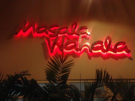 Masala Wahala: signage