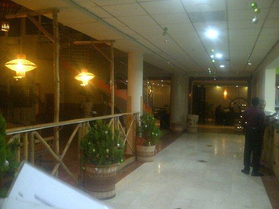 Masala Wahala: hallway