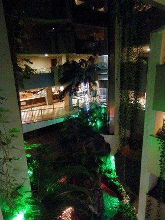Paradise Park Fun Lifestyle Hotel: jardin interior y ascensor panorámico