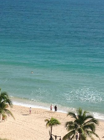 The Westin Beach Resort, Fort Lauderdale: View of beach area from room