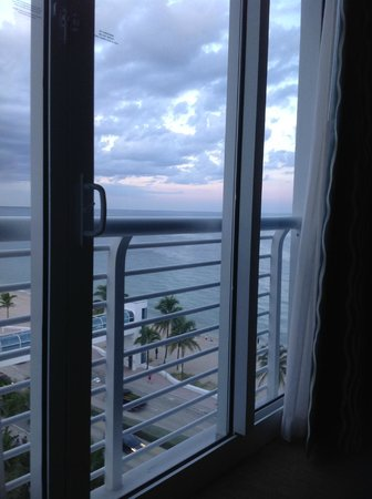 The Westin Beach Resort, Fort Lauderdale: View from bed