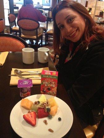Washington Dulles Airport Marriott: Café da manhã variado