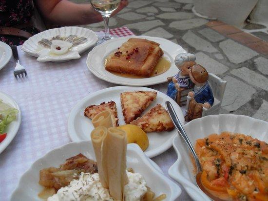 Taverna Stathis-Lia: Mezze