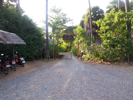 Thai House Beach Resort - Koh Lanta: Eingang