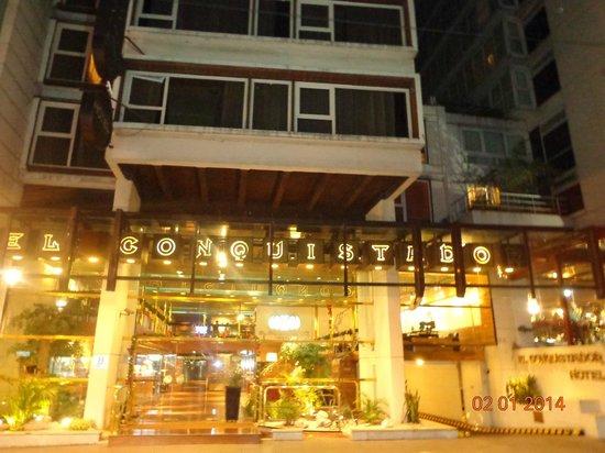 El Conquistador Hotel: Fachada do Hotel