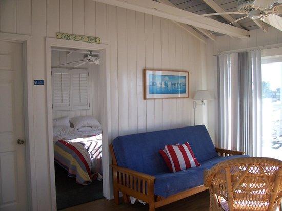Crystal Pier Hotel & Cottages : Inside of Cottage #15