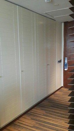 Hotel Dreams Araucania: Vista del placard