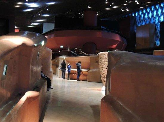 Musée du quai Branly - Jacques Chirac : Innen