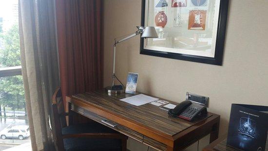 Hotel Dreams Araucania: Vista del escritorio