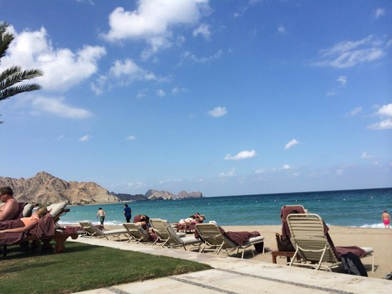 Al Bustan Palace, A Ritz-Carlton Hotel: the beach
