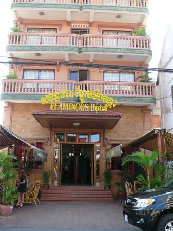 Flamingos Hotel: Вход в отель