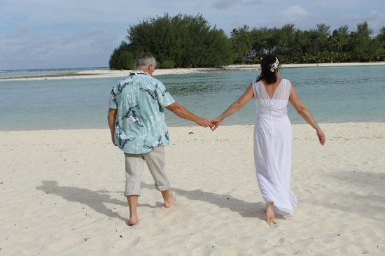 Muri Beach Club Hotel: Wedding