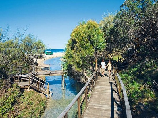 Beachside Motor Inn: Eli Creek Fraser Island