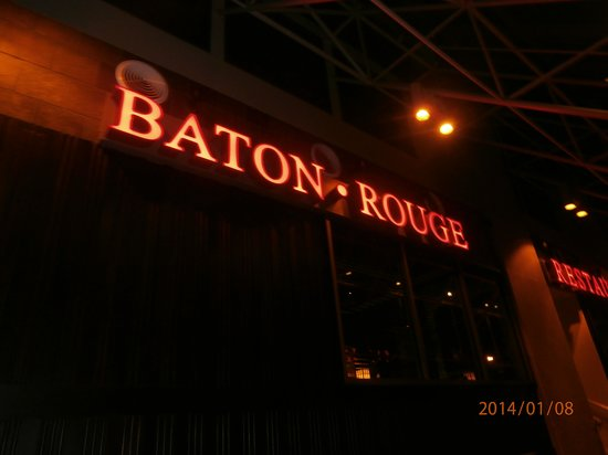 Baton Rouge: The restaurant's name