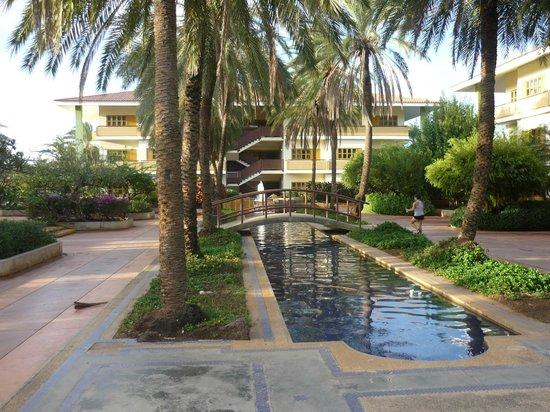 Dunes Hotel & Beach Resort: lindos jardines