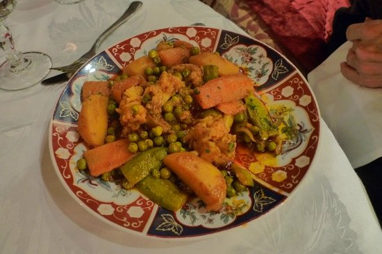 Riad Kniza : Vegetable Tagine..yummmm