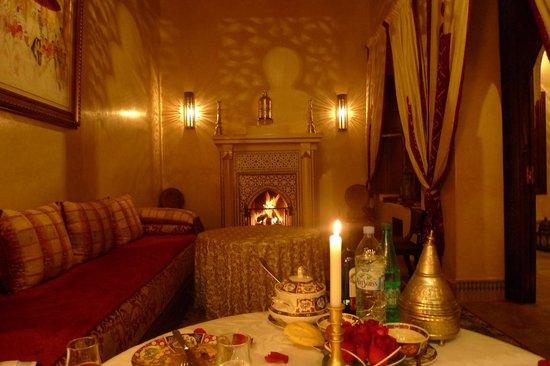 Riad Kniza : Semi Private dining room