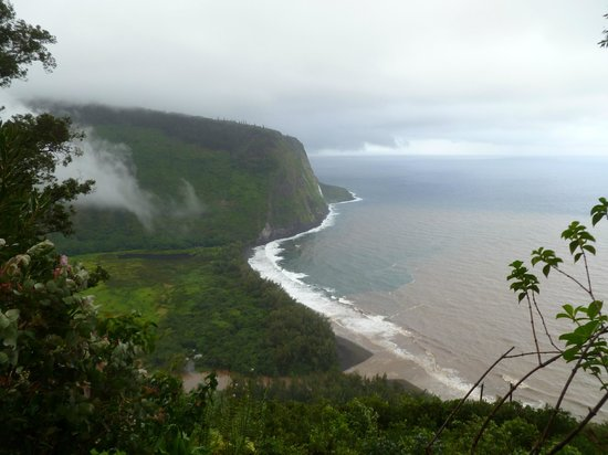 Waipio Rim : Do not expect every day to have sunshine