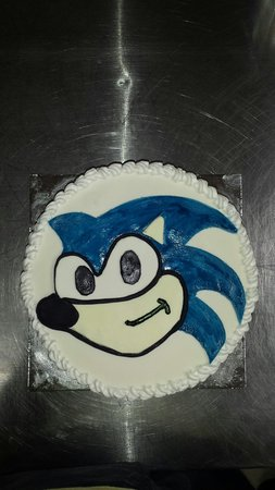 Sonic The Hedgehog Cake Picture Of Cinnabar Bakery Drysdale