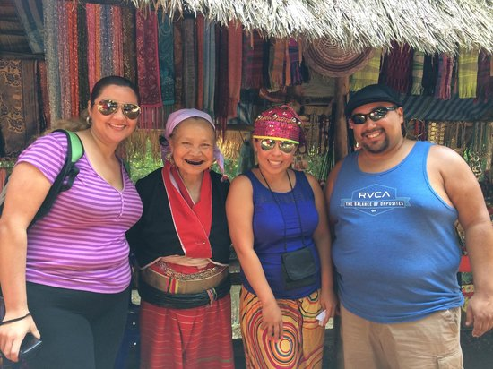 Karen village: my posse and the toothless lady