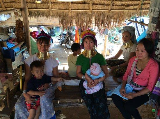 Karen village: some of the people