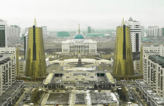 Astana, Kazakhstan: Vista panoramica