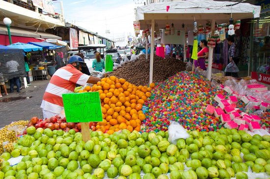 Old Mazatlan: Fresh fruit