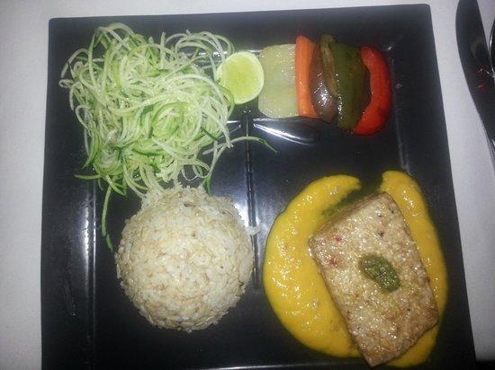 ONEWORLD retreats Kumara: well prepared dinner