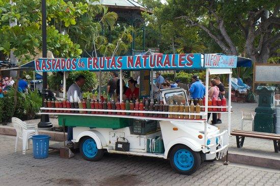 Old Mazatlan: Street Vendor