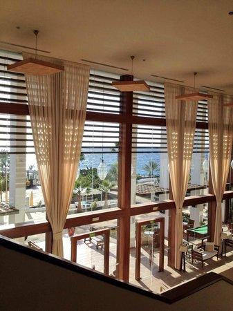 Hesperia Lanzarote : Vista dalla reception