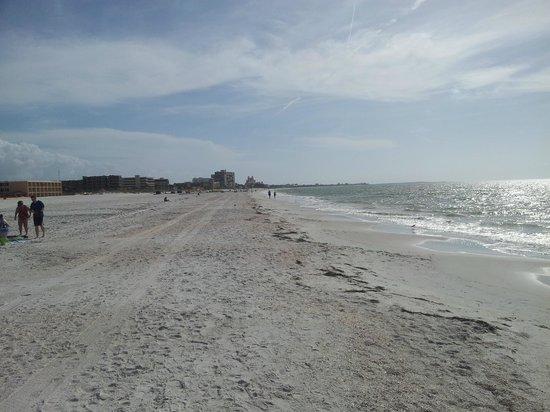 Gulf Beach Resort : beach