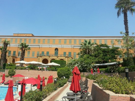 Cairo Marriott Hotel & Omar Khayyam Casino: view of the grounds