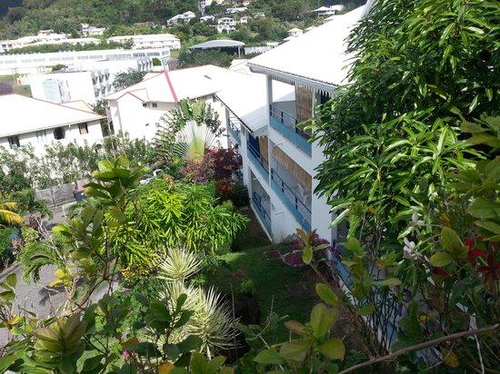 Residence des Iles Martinique: Le jardin de la résidence