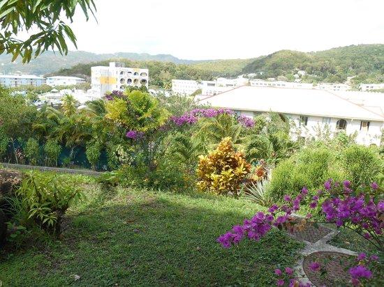 Residence des Iles Martinique: Vue de l'appartement Antigua