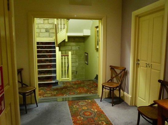 The Lord Nelson Brewery Hotel: Stairway leading to rooms
