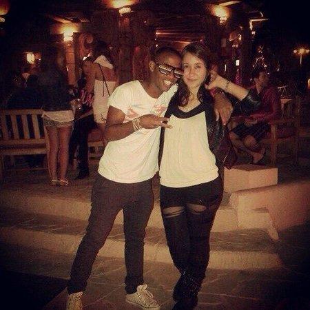 Hilton Sharm Dreams Resort : Аниматоры Ася и  Дима