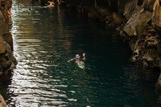 Las Grietas: snorkeling