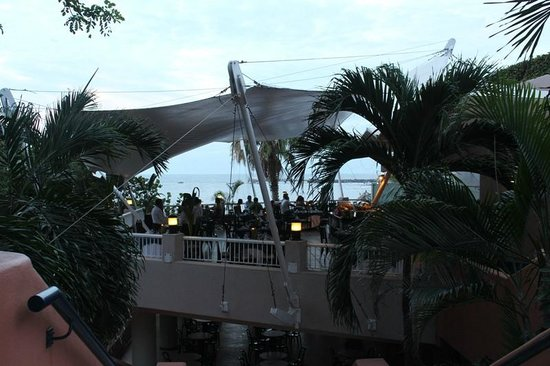 """Azul Ixtapa Beach Resort & Convention Center: """"Las Velas""""restaurant offers meat, fish and poultry made with old fashio"""