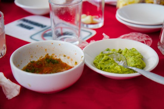 Salsa and Salsa Mazatlan: My salsas were the best!