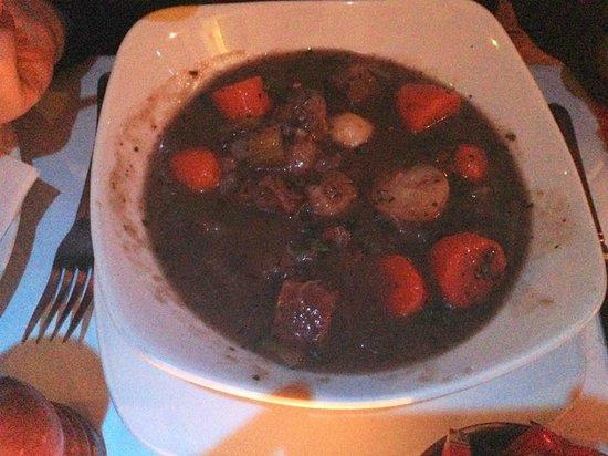 Kinlay House: plat de ragôut typiquement irlandais à la menthe