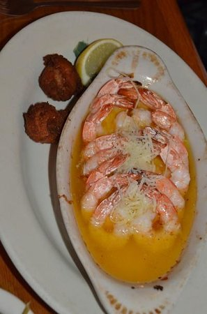 Sam's St. Johns Seafood: Shrimp Scampi - very good too.