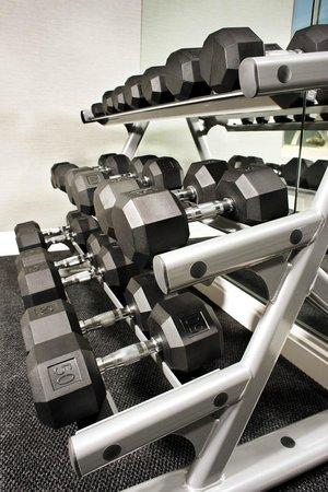 Ayres Hotel Fountain Valley/Huntington Beach : Weight Rack