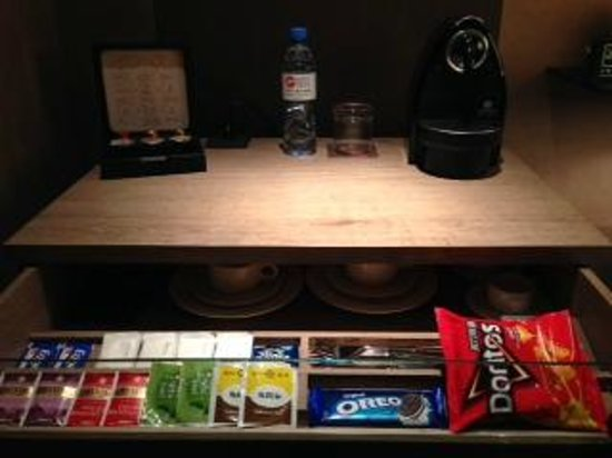 HOTEL QUOTE Taipei: Free snacks, tea and coffee