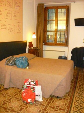 Albergo Diana : la camera intima ed ampia