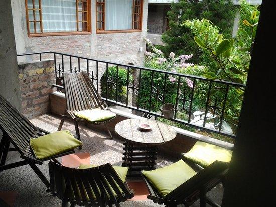 La Floresta Hotel: Blick in den Garten