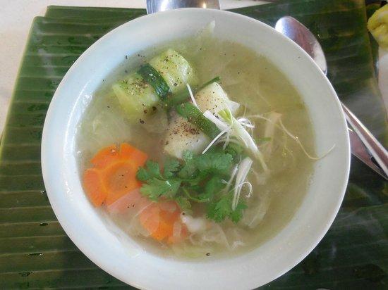 Vy's Market Restaurant & Cooking School: Pork & Prawn cabbage soup