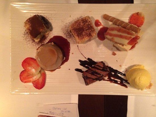 Ristorante San Martino: Dessert suculant