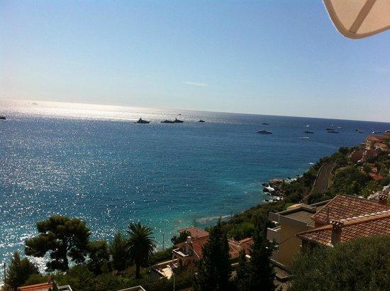 Le Roquebrune : view